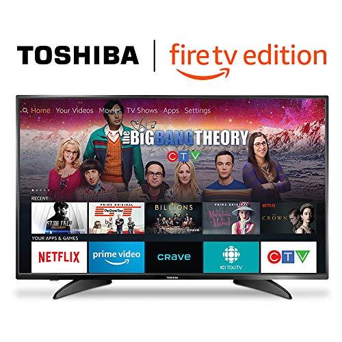 Toshiba 43LF421C19 43-inch 1080p HD Smart LED TV - Fire TV Edition