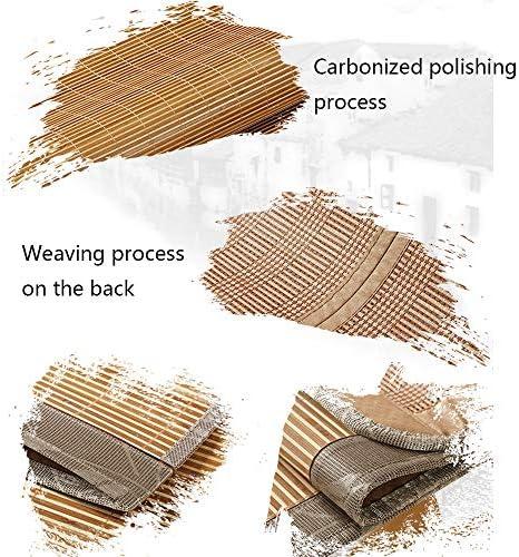 WangQ Matelas Bamboo Cool - Tapis de ménage double face pliable en bambou, sans taie d'oreiller - Taille: 180X200cm