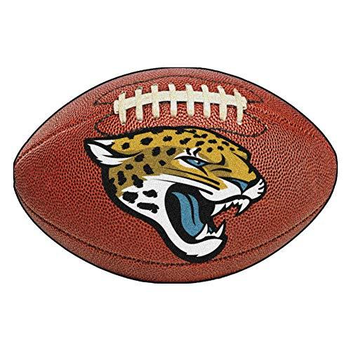 FANMATS NFL Jacksonville Jaguars Nylon Face Football Rug