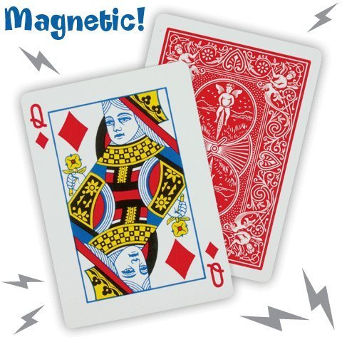 - Magician's Magnetic Card Trick 2 Random Selected Cards for Real Magic Tricks