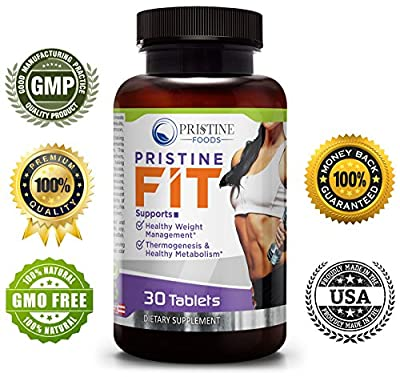 PRISTINE FOODS ? Natural Weight loss Thermogenic Fat Burner ? Carb Metabolism Lean Muscle Supplement ? Appetite Suppressant Blood Sugar Support Blend ? Energy Mood Endurance Focus ? NONGMO Made in USA