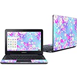 """Mightyskins Skin Compatible with Samsung Chromebook 3 11.6"""" - in Bloom   Protective, Durable, and Unique Vinyl Decal Wrap Cover   Easy to Apply, Remove, and Change Styles   Made in The USA"""