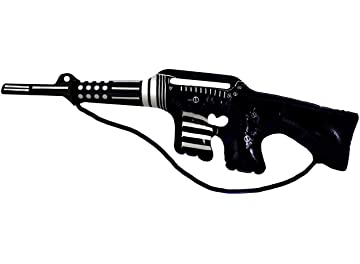 Gangster Mob Inflatable Blow Up Tommy Gun 20/'s Fancy Dress Accessory