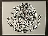 eagle vision emblem - Custom Stencil Mexico Mexican Flag Emblem Eagle 11