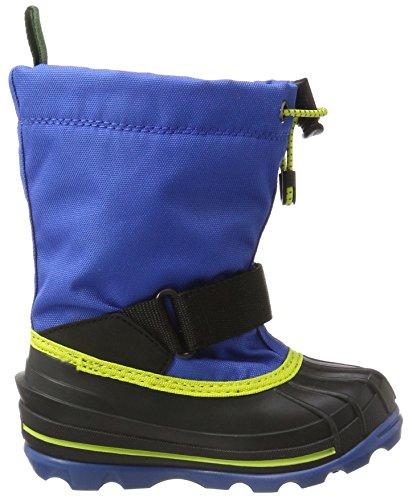 Kamik Unisex-Kinder Waterbug8g Schneestiefel Blau (Blue/Sulphur)