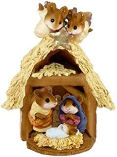 product image for Wee Forest Folk Chris-Mouse Pageant and Stable Set M-117 & M-144