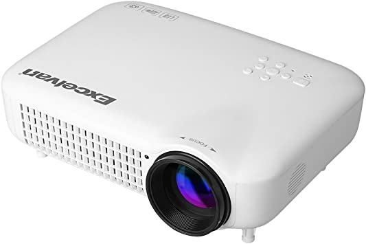 Excelvan LED 5018 Proyector LED HD (3000 Lúmenes, 1280x800, 1080P ...