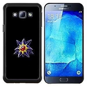 Qstar Arte & diseño plástico duro Fundas Cover Cubre Hard Case Cover para Samsung Galaxy A8 A8000 (P0kemon Diamond Gem)
