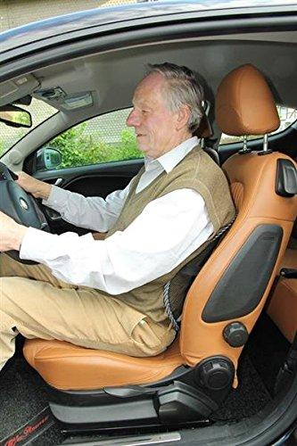 Backrest Bequeme Auto Rückenstütze Lordosestütze Lehne Stuhllehne Sitz Sitzkissen & Lagerungshilfen
