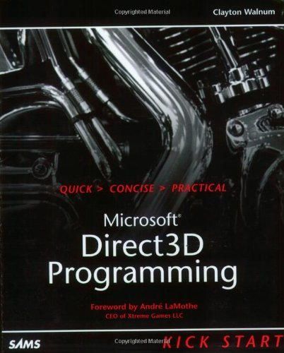 Direct3D Programming Kick Start by Brand: Sams Publishing