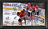 The Highland Mint NHL Chicago Blackhawks 2015 Stanley Cup Champions Celebration Signature Rink, 22'' x 15'' x 4'', Black
