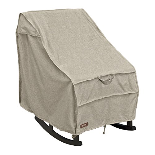 Cover Rocking Chair Outdoor - Classic Accessories Montlake FadeSafe Patio Rocking Chair Cover, Medium