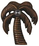 Waterwood Brass Palm Tree Doorbell in Oil Rubbed Bronze