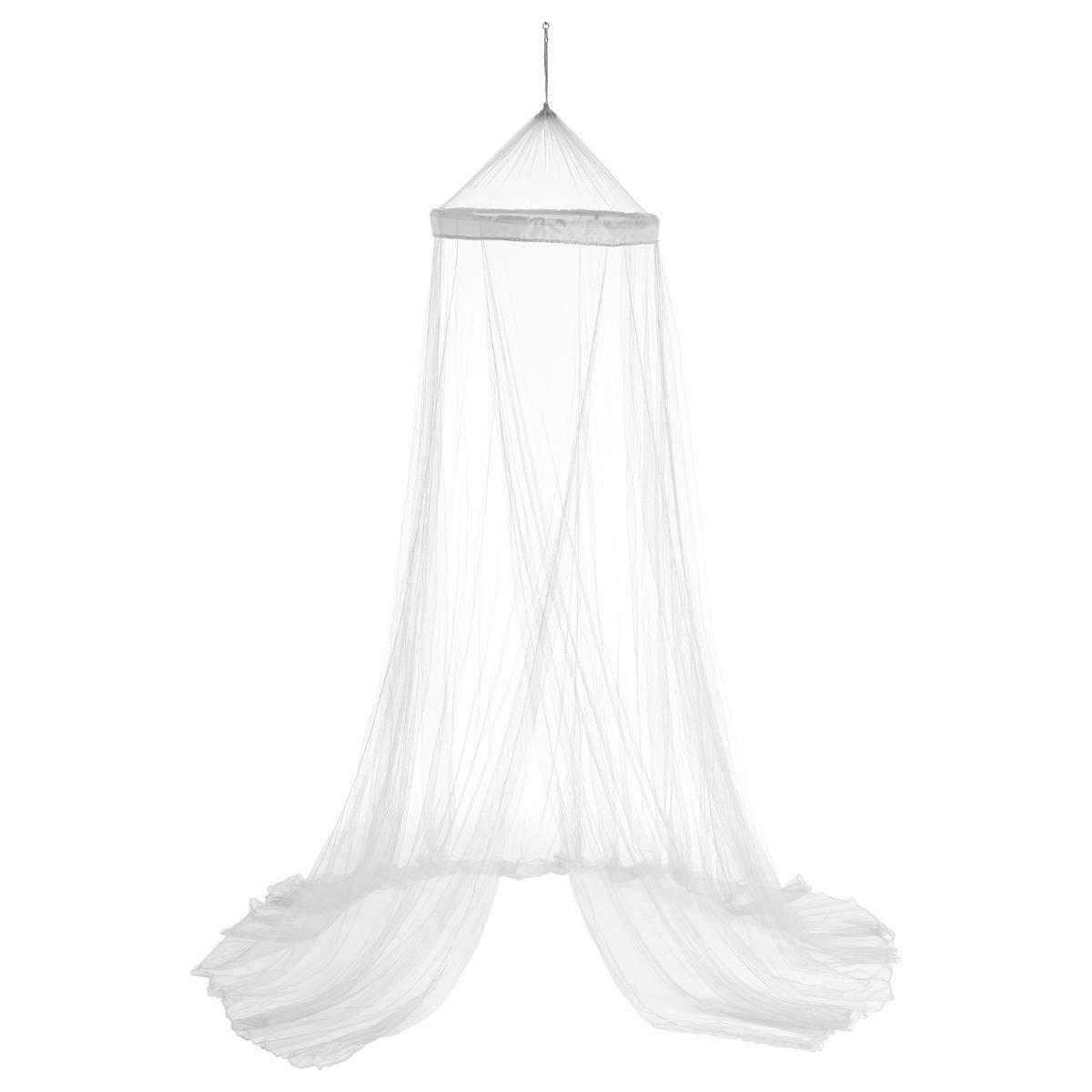 Ciel de lit et moustiquaire - 60 X 250cm - Coloris IVOIRE BLANC ATMOSPHERA