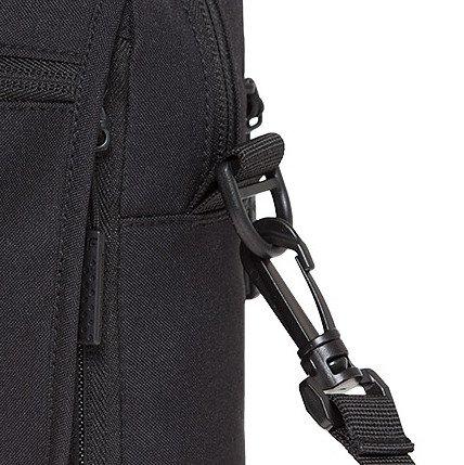 Umhängetasche für Herren & Damen | 4F | Kleine Schultertasche | Unisex Freizeittasche Outdoor Sport Handtasche für Handy | TRU002 SS18 (, ) Schwarz