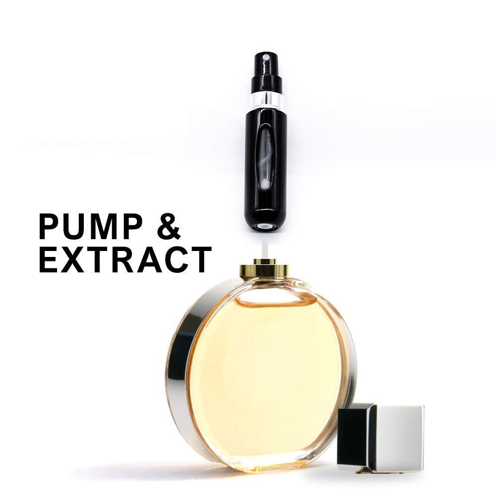 Pulverizador de viaje con bomba y extracto de perfume ...