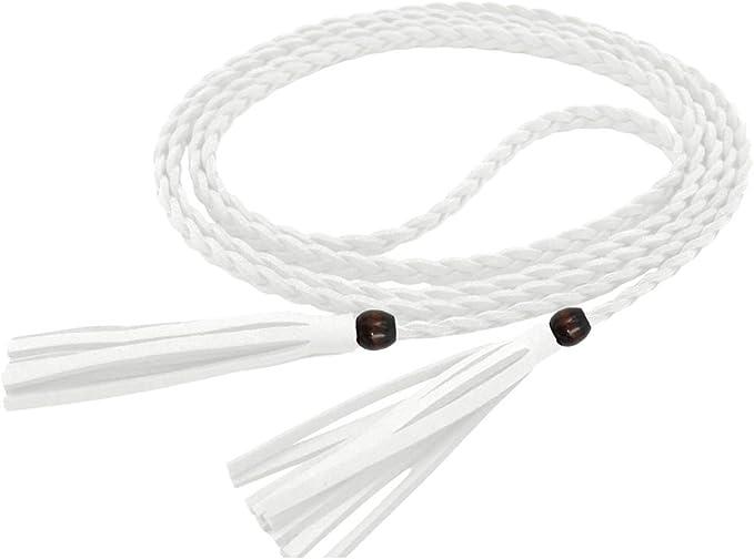 Nanxson Cintura Fine Intrecciata Lunga In Pelle Artificiale Da Donna PDW0043