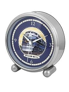 Fossil 10306 - Reloj de Sobremesa plata/marino