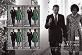 President Barack Obama and First Lady Michelle Obama Collectible Postage Stamps 3971