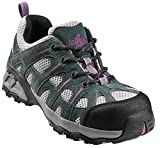 Nautilus 1754 Women's Comp Toe No Exposed Metal EH Athletic Shoe,Grey/Lavender,7.5 W US