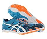 ASICS GUNLAP Track Shoe, Island Blue/White/Hot