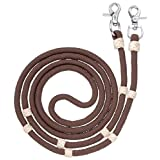 Tough-1 Reins Royal King Braided Contest/Roping Reins Snap Ends 54-925