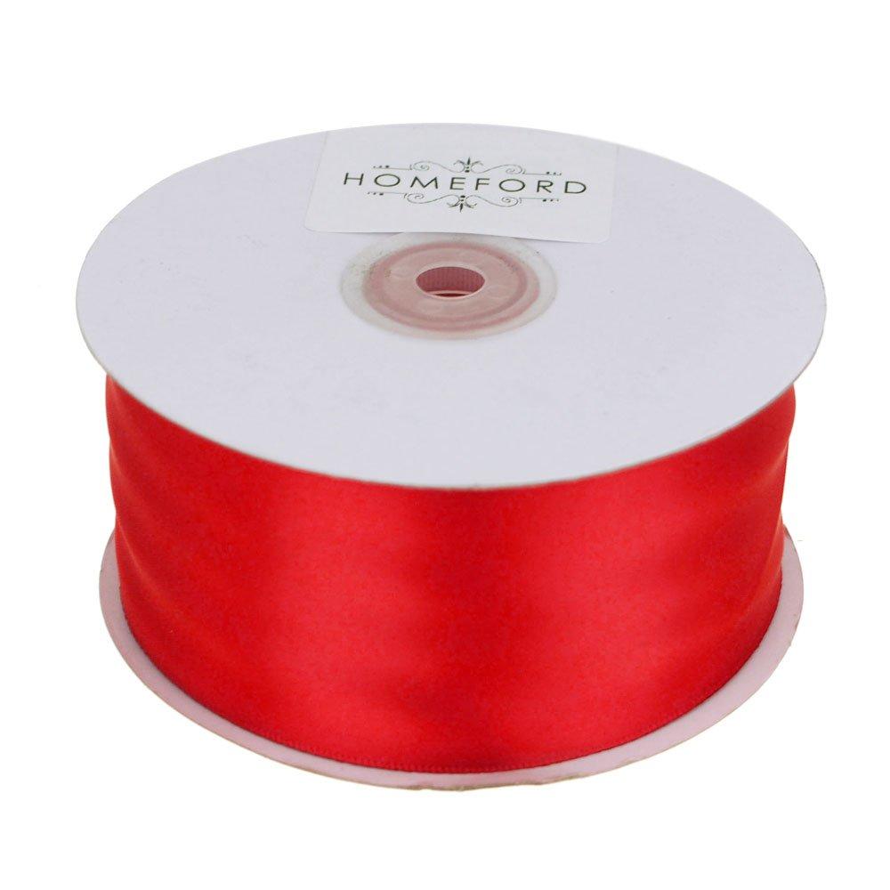 Homeford FCR000PSF2000250 Ribbon, 2'', Red