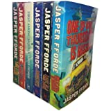 Jasper Fforde – Thursday Next Series 6 books: The Eyre Affair / Lost In a Good Book / Well Of Lost Plots / Something Rotten / First Among Sequels / One Of Our Thursdays Is Missing
