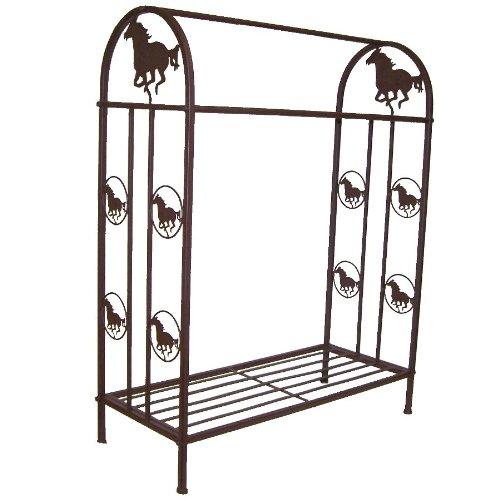 Ll Home Quilt Rack with Horse Marco International Inc. 21207