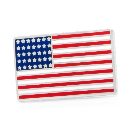 7/8' Lapel Pin (American USA Flag Patriotic Freedom Premium Lapel Pin)