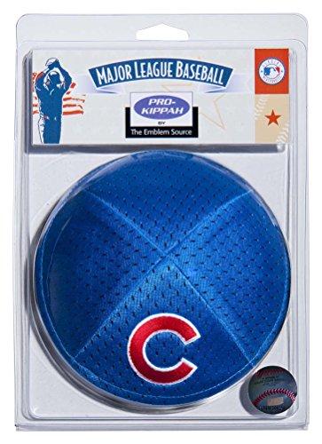 Emblem Source MLB Chicago Cubs Men's Kippah, One Size, Blue