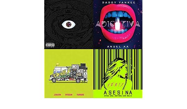 Hits Urbanos by Paloma Mami, Rvssian, Alex Sensation, Lenny Tavarez, Cazzu, Paulo Londra, Karol G, Daddy Yankee, DUKI, Tory Lanez, Anuel Aa, Farruko, ...