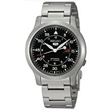 Seiko Men's SNK809B Automatic-Self-Wind Black Dial Watch