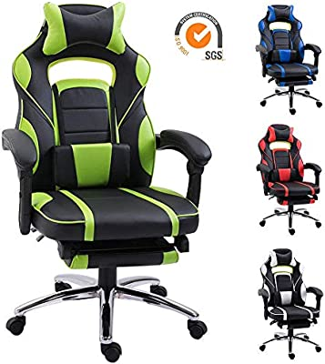 Excellent Couch Ryk Racing Gaming Chair With Footrest Reclining Ibusinesslaw Wood Chair Design Ideas Ibusinesslaworg