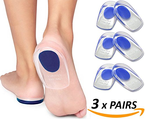 Armstrong Amerika Heel Pain Inserts Sili - Orthotic Heel Wedges Shopping Results