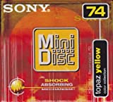 Sony Topaz Yellow Mini Disc Color Collection