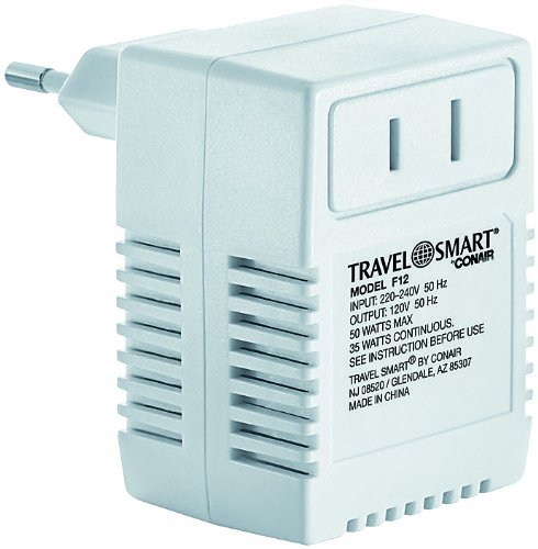 Travel Smart F12 by Conair 50-Watt International Transformer