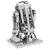 Star Wars 3D Metallic Nanopuzzle R2D2 (English Instructions Included)