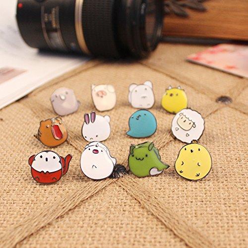 Jaese popular small street jewelry drops of enamel Funny Jaese zodiac animal cute (Enamel Zodiac)