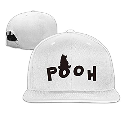 Adult Cute Bear Snapback Adjustable Cap
