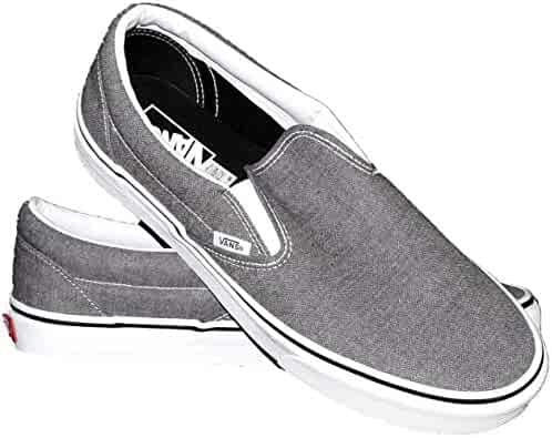 8b32538d09 Vans Classic Slip-On Micro Herringbone Gray Size 10.5 Women 9 Men M US