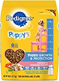 Cheap Pedigree Puppy Growth & Protection Dry Dog Food Chicken & Vegetable Flavor, 28 Lb. Bag (Discontinued By Manufacturer)