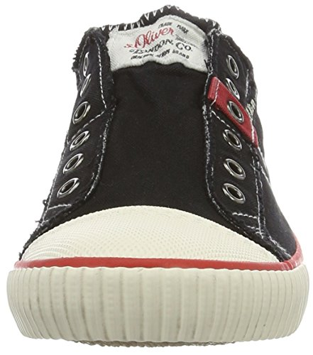 s.Oliver 14603, Zapatillas para Hombre Negro (BLACK 001)