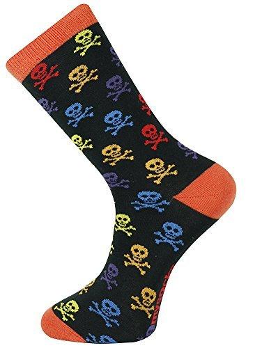 Skull Mens Socks - Mysocks Ankle Socks Skull Design