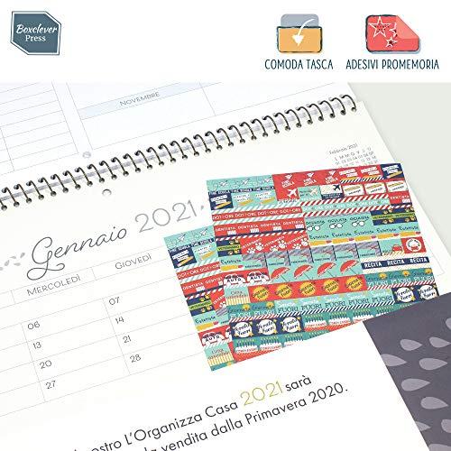 Calendario Pagamenti Pensioni 2020.Boxclever Press L Organizza Casa Calendario Mensile 2019 2020 Calendario 2019 Da Muro Accademico In Italiano Con Ampio Spazio Inizia Da Settembre