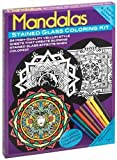 Mandalas Stained Glass Coloring Kit (Arts & Crafts)
