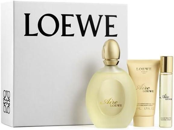 Loewe Aire Set de Agua de Colonia, Loción Hidratante y Agua de Colonia Mini - 170 ml: Amazon.es: Belleza