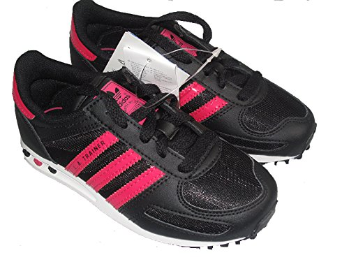 Adidas LA TRAINER Basket mode Fille Noir