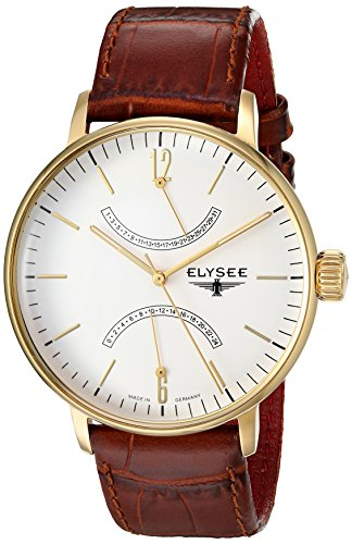 ELYSEE Men's 13271 Classic-Edition Analog Display Quartz Brown Watch