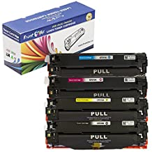 PrintOxe™ Compatible 5 Toners Replacement for 131X (Set + Black) High Yield 131A Laser Toner Cartridges; 2 Black CF210X , Cyan CF211A , Yellow CF212A & Magenta CF213A for HP Printer Models: LaserJet Pro Color M251n , M251nw , MFP M276n , M276nw & Pro 200 . Sold by PanContinent